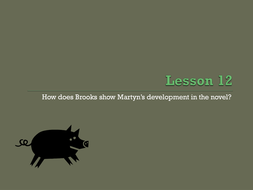Lesson 12 Martyn Pig development and bildungsroman.pptx
