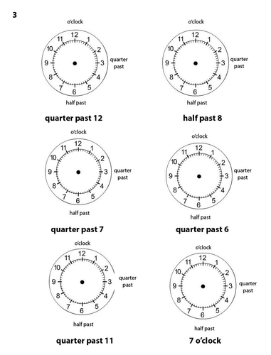 Time Worksheets (Differentiated) (KS1) (LKS2) by MrMale - Teaching ...