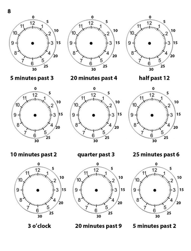 Time Worksheets time worksheets quarter past : Time Worksheets (Differentiated) (KS1) (LKS2) by MrMale - Teaching ...