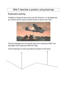 WALT describe a position using bearings.doc