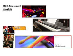 BTEC Music Unit 1,2,4,8,11 and 16 AfL feedback