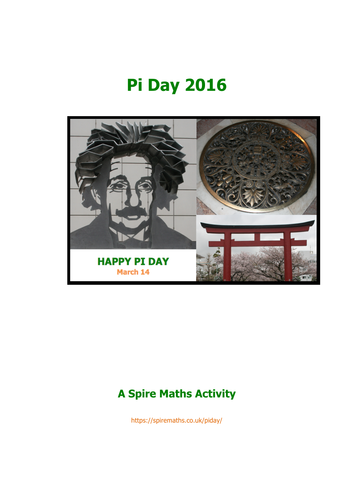 Pi Day Activities By Davem195 Teaching Resources Tes