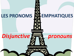 Expo 3 rouge emphatic pronouns