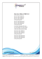 How Can I Make A Difference - Lyrics.pdf