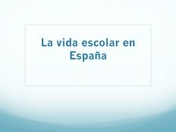 KS3 Spanish: Education in Spain