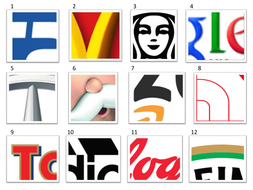 KS3 Graphics: Logo Quiz