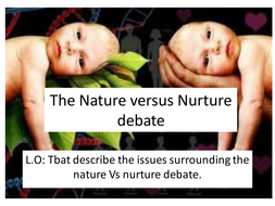 Intellectual Development Nature Or Nuture By Pennymcb Teaching