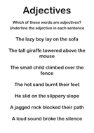 Adjectives Worksheets by discophile | Teaching Resources