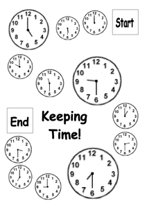 keep in time game oclock & half past.doc