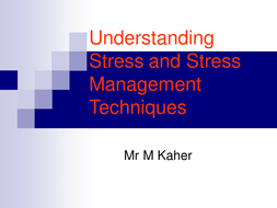 understanding stress and stress management