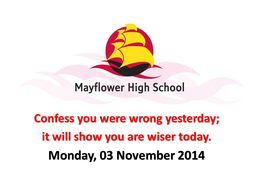Confess you were wrong to make you wiser tomorrow