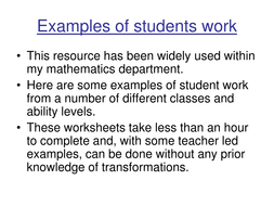 Examples of students work.pdf