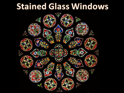 Stained Glass Windows By Joakwi Teaching Resources Tes