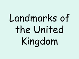 Landmarks of the United Kingdom