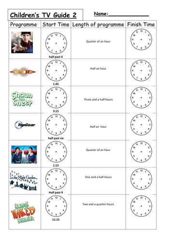 Counting Number worksheets : time duration worksheets ks1 Time ...