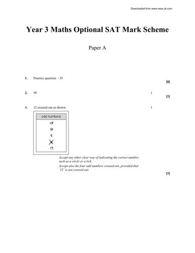 qca ks2 year 3 mathematics 2003 papers by paul weston