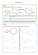 Printables Scale Factor Worksheet similar shapes worksheet scale factors by adz1991 teaching worksheet