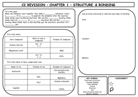 Aqa c2 revision sheets by shooppoop teaching resources tes aqa c2 revision sheets urtaz Choice Image