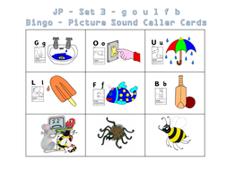 Jolly phonics bingo set 1 to 7 by saintannes teaching resources tes jolly phonics set 3 bingo picture and letter sound cardspptx spiritdancerdesigns Choice Image