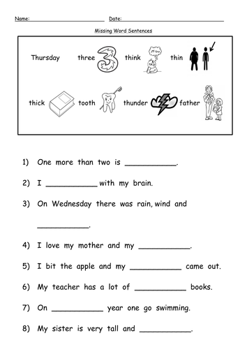 Printables Th Sound Worksheets th digraph worksheets by barang teaching resources tes