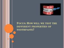 Toothpaste Investigation