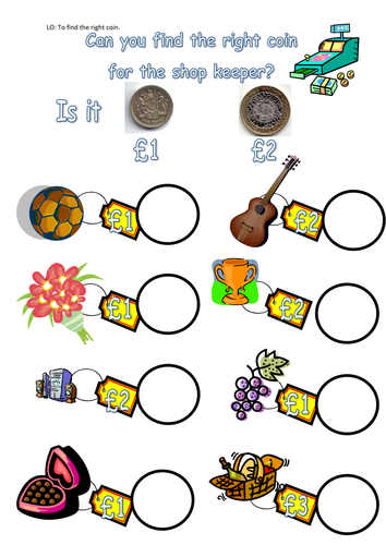 Money worksheets by Steffster - Teaching Resources - Tes