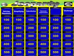jeopardy_KS3_level_5_6_Algebra.pptx