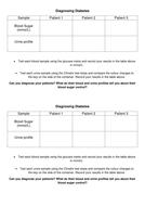 Diagnosing Diabetes Practical Table.docx