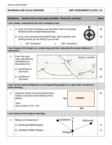 Ks3ks4 Maths Cfe Level 3 Worksheets By Hcwallace Teaching