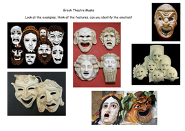 Greek Masks by adele1987 - Teaching Resources - Tes