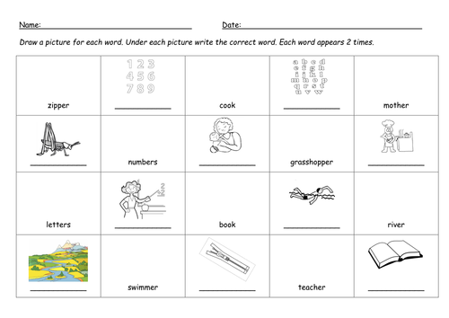 er digraph worksheet by barang Teaching Resources Tes – Digraph Worksheet