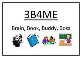 3B4ME. Three Before Me. Independent learning