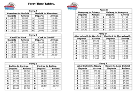 Ferry Time Table.doc