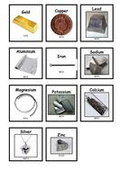 The reactiviy series of metals - card sort