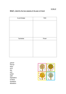 ks2 french seasons activities by emkate teaching resources. Black Bedroom Furniture Sets. Home Design Ideas