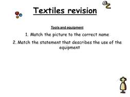 Textiles Revision PowerPoint for A575 OCR