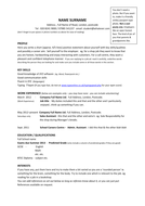 Sample cv and covering letter | teaching resources.