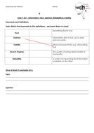 Information Keywords Homework Task.docx