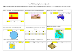 Year 7 Searching Task Answers.docx