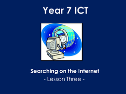 Searching the Internet Lesson Three.pptx