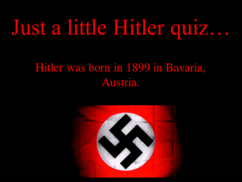 why did hitler gain power
