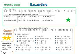expanding and factorsing foundation differentiated.docx