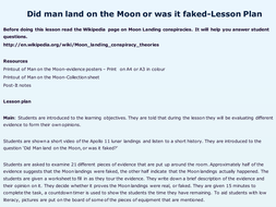 Did Man land on the Moon, or was it faked?
