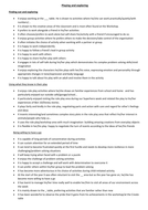 Report Comments for Characteristics of Learning