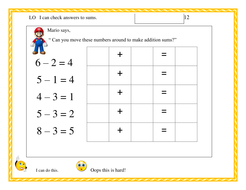 Using inverse operations to check answers   Teaching Resources