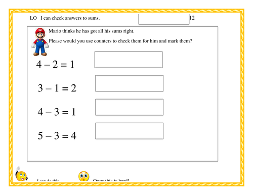 Using inverse operations to check answers by sudall Teaching – Inverse Addition and Subtraction Worksheets