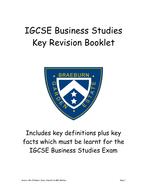 GCSE (IGCSE) Revision Guide