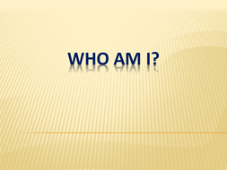 20 Questions - Children's Lit - Who Am I?