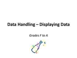 Statistics - Calculating, Displaying and Interpret