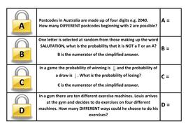 LOCK Yr 11Gen Probability.doc